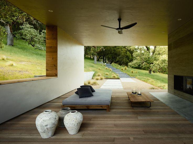 #pergola #indooroutdoor #courtyard Gallery of Carmel Valley Residence / Sagan Piechota Architecture - 8