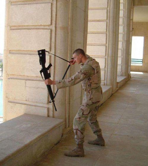 Военный юмор в фотографиях