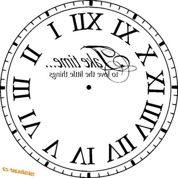88 reverse clock face