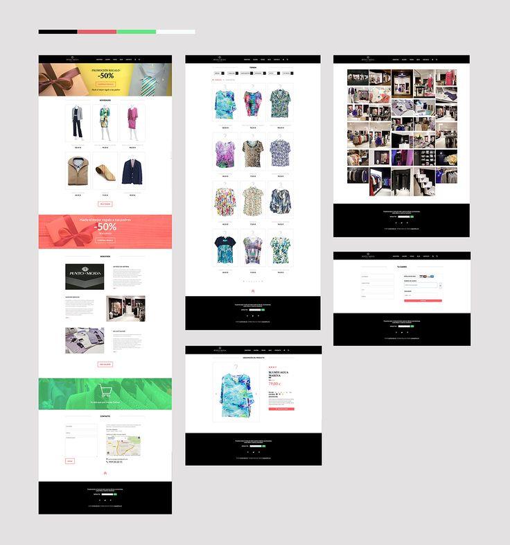 Diseño Web - Tienda Punto Moda (Granada)