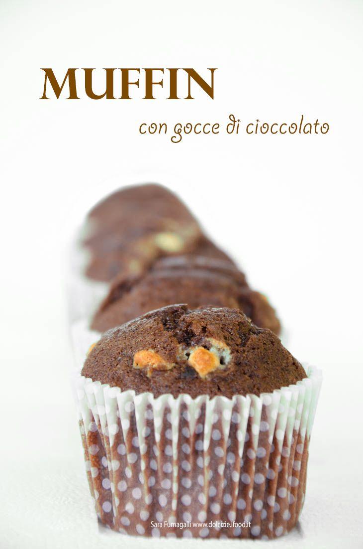 muffin al cioccolato rossella cioccolato