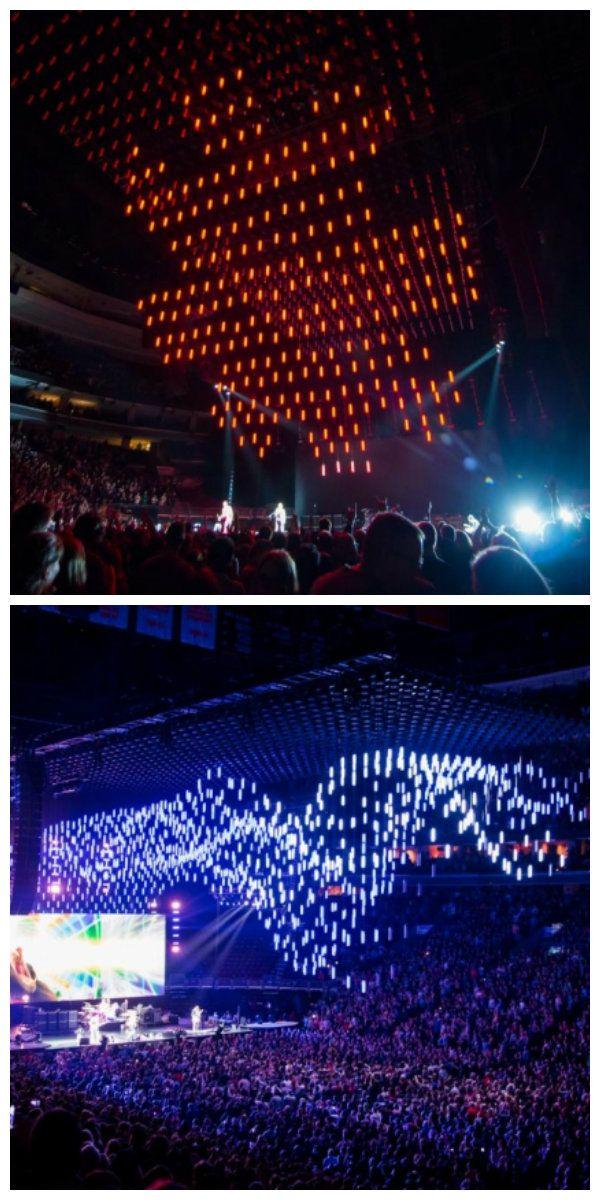 Концерт Red Hot Chili Peppers в сопровождении самой большой кинетической светодиодной инсталляции. #светодиоды #подсветка #светодиоднаяподсветка #освещение #светодиодноеосвещение #ledинсталляции #кинетическаяинсталляция #кинетическаясветоваяинсталляция #кинетическаясветодиоднаяинсталляция #световаяинсталляция #светодиоднаяинсталляция #световыеинсталляции #светодиодныеинсталляции #дизайнсвета #свет #шоу #lednews