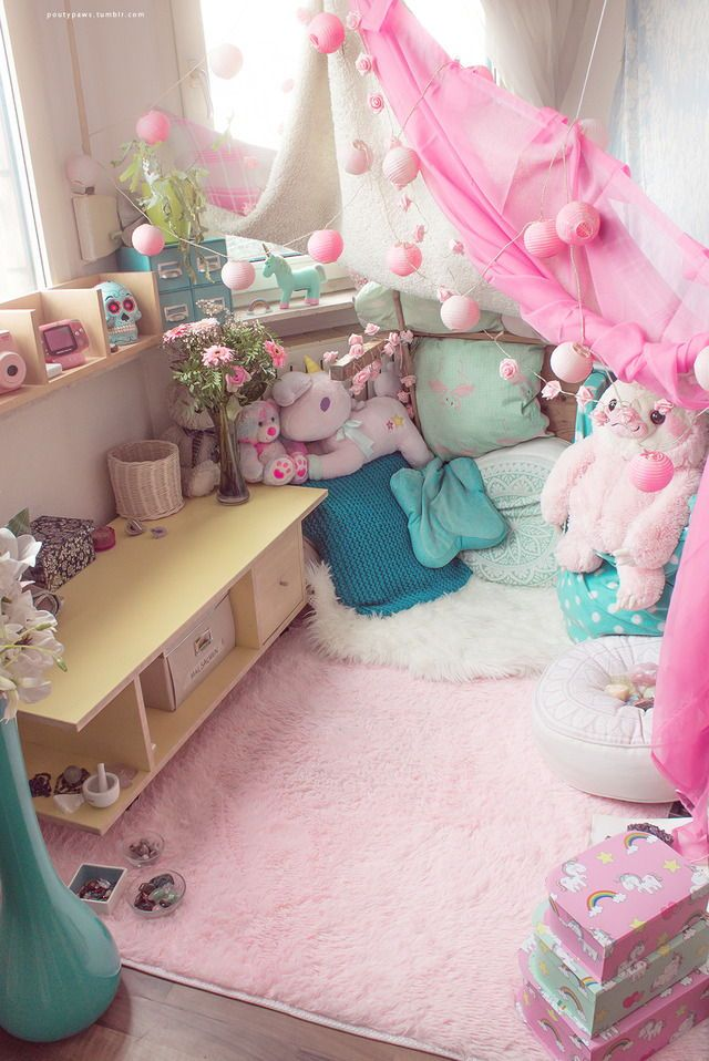 Pin By Kayla Ledford On Little Space Pastel Room Girl Room