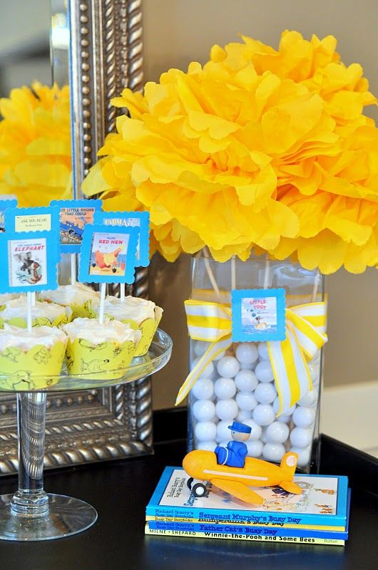 Baby shower - book theme