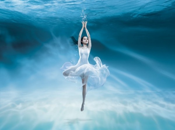 Under The Sea Dance Beauty Psd