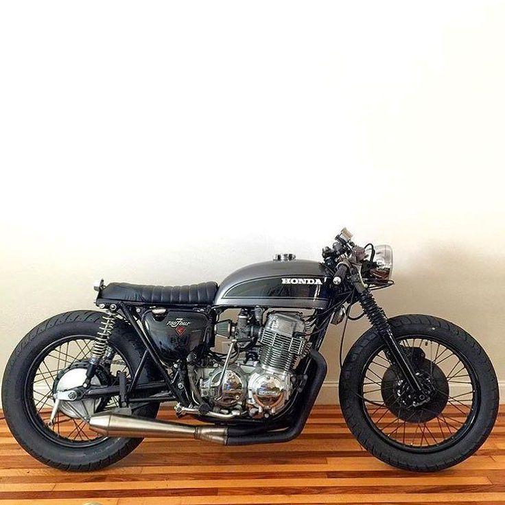 Photo courtesy of @achtoomology :: Bike - Honda CB750 :: #triumph #honda #suzuki #yamaha #ducati #caferacer #caferacers #classic #croig #caferacersofinstagram #motorcycle #motorcycles #motorbike...