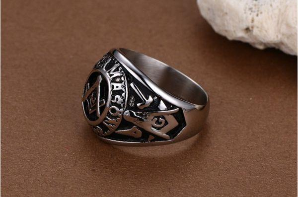Masonic Mens Ring