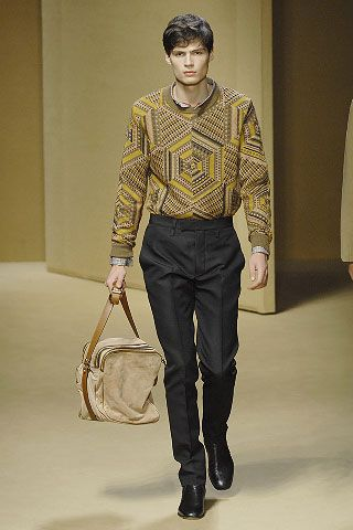 LOOK7 FALL 2008 MENSWEAR Missoni