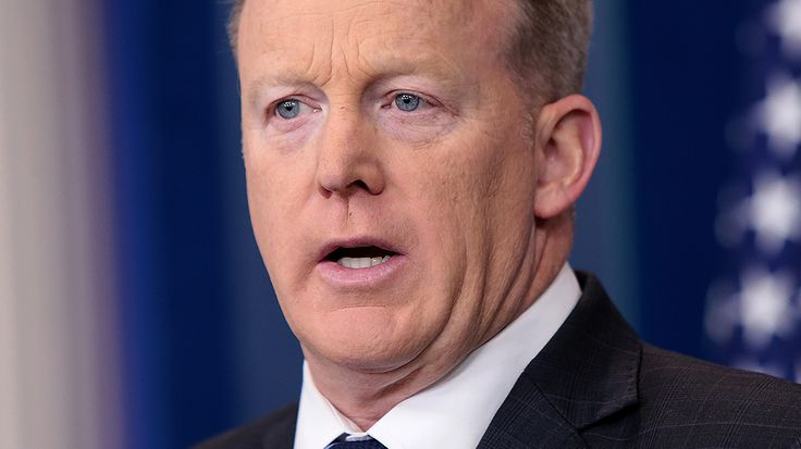 Social media users question Spicer calling concentration camps 'Holocaust centers'