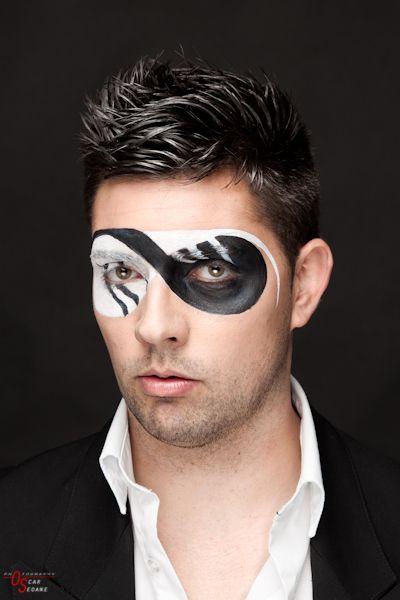 maquillaje artistico hombre - Buscar con Google