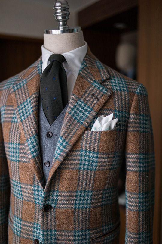 B&TAILOR exclusive tweed jacket