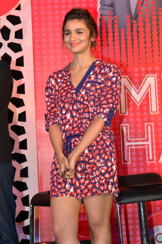Alia Bhatt at the launch of MTV coke studio.