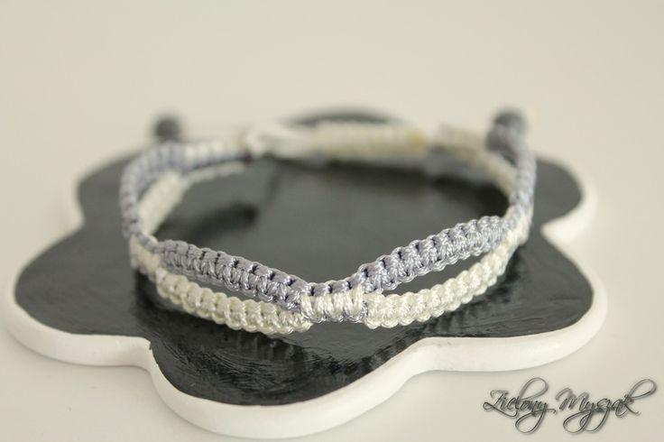 Zielony Myszak: 49. Makrama #handmade #bracelet #macrame #polska