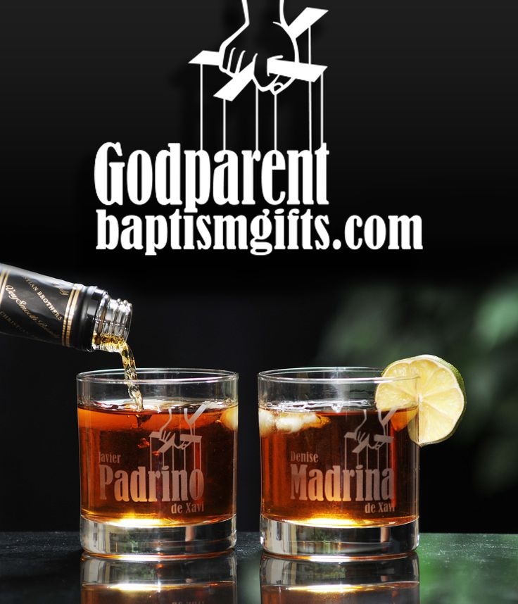 Personalized Baptism Gifts for godparents - absolutely the coolest baptism gifts in the world!