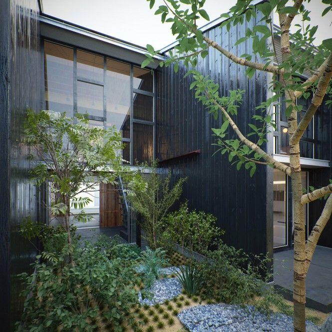 60 Beste Afbeeldingen Van Japanse Architectuur Kengo 400 x 300