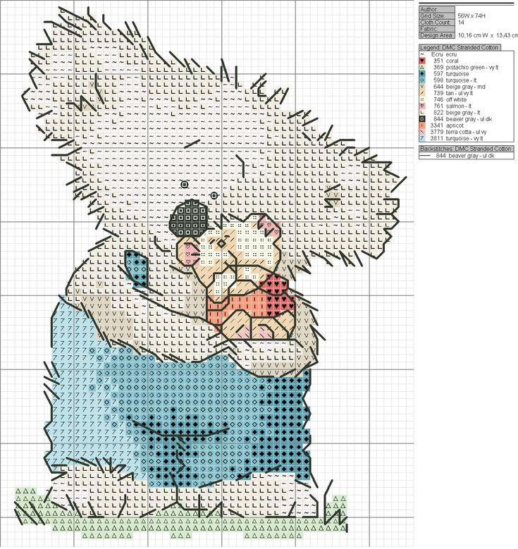 koala cross stitch