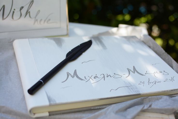 Your conceptual design engraved on your wooden guest book for a destination…
