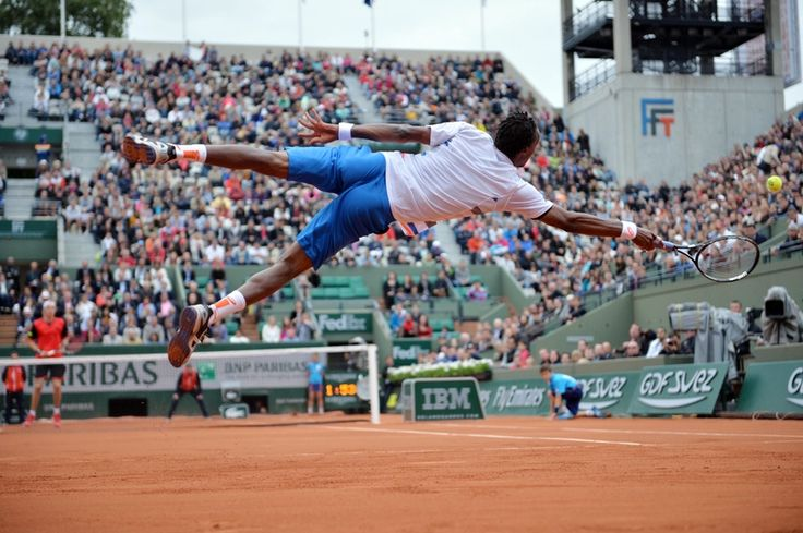 Gael Monfils gives tips on how to be flexible as a Tennis player