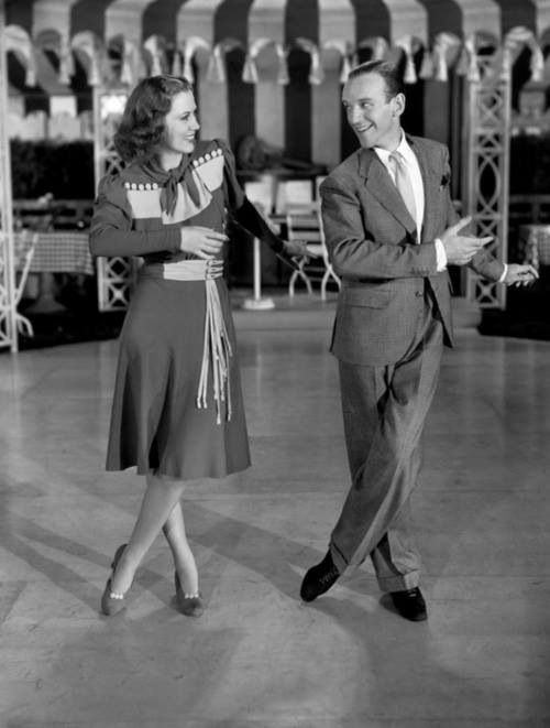 Fred Astaire and Eleanor Powell in Broadway Melody of 1940.