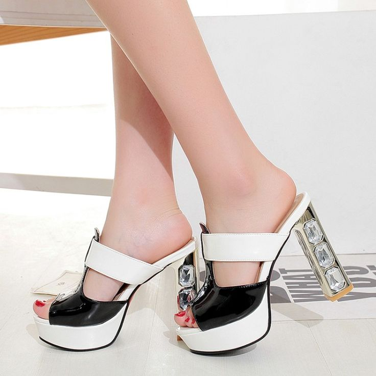 Spring and summer new fine with leather female metal buckle with pointed shoes mixed colors female sandals discounts cheap online hot sale cheap price discount free shipping sale deals tYmIJgl