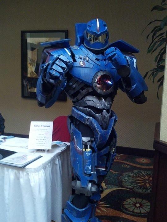 WIP Gipsy Danger cosplay