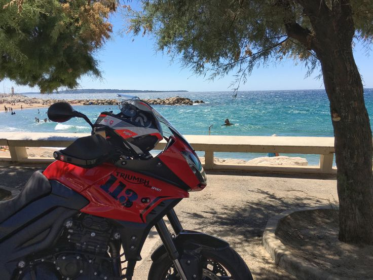 Triumph 1050 Tiger Sport 2015 in Cannes BeeJay113