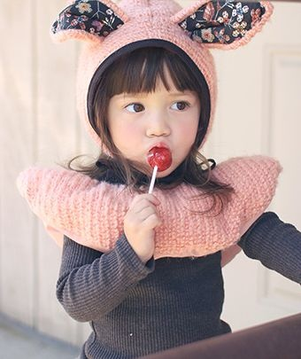 annikaアニカ ディンキィミュ ウィンターセット - 韓国子供服amber,annikaのtsubomiかわいい輸入服のセレクトショップ