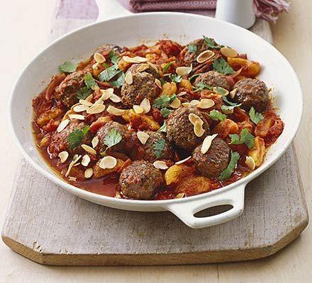 Speedy Moroccan meatballs