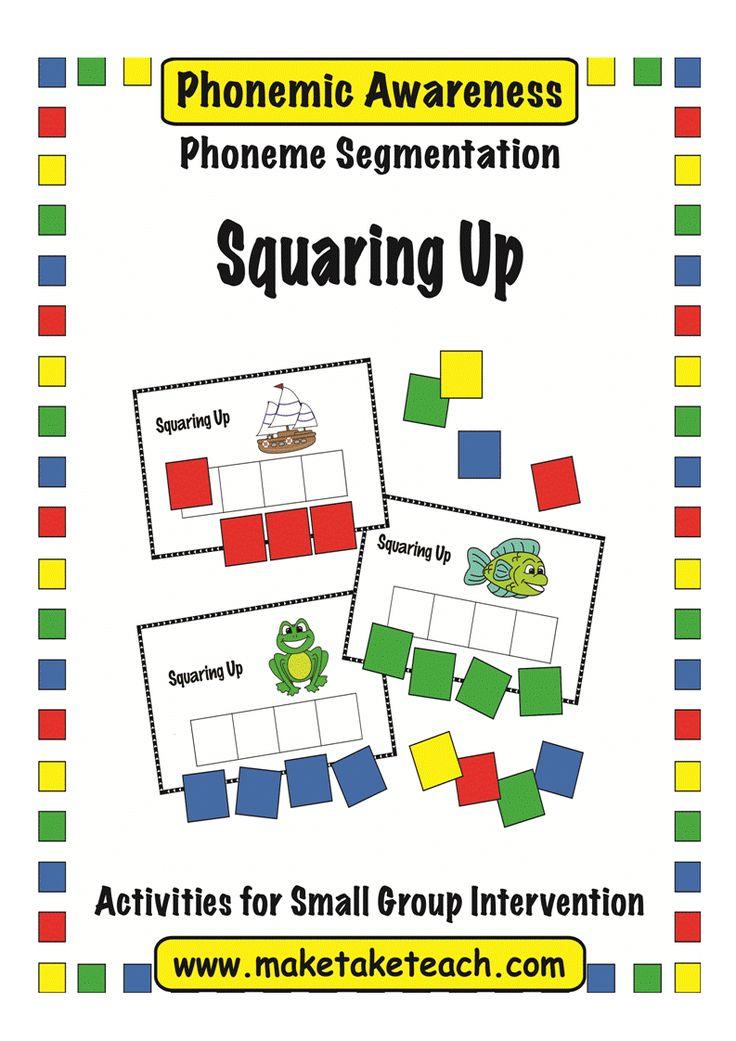Free Phoneme Segmentation Game Squaring Up Education