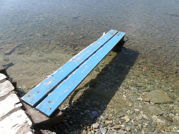 It takes a small step on the blue platform to jump and immerse in the sea of our emotions and desires.