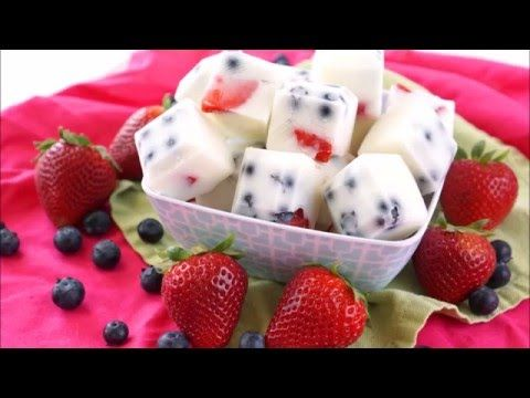 Frozen Yogurt Berry Bites Recipe – Happiness is Homemade