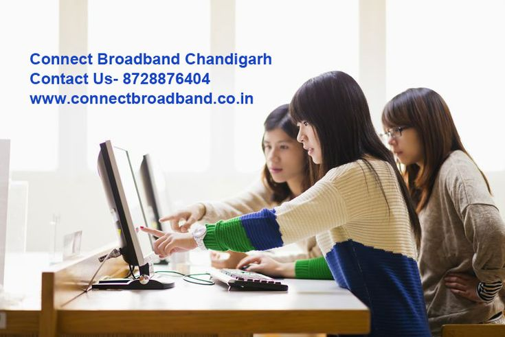 Switch your internet connection with Connect Broadband Chandigarh. We are offering high speed internet service in your area. Do a missed call at 8728876404.