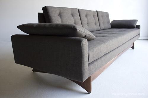 Mid Century Modernadrian Pearsall Sofa Couch 2408 s for Craft Associates   eBay