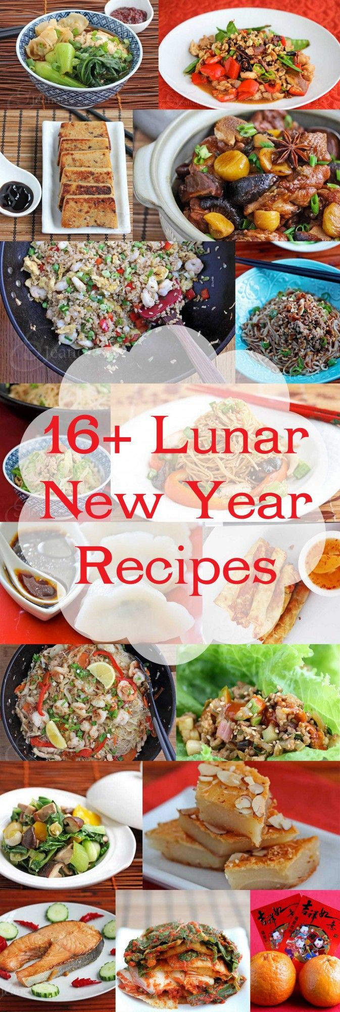 16+  Lunar and Chinese New Year Recipes © Jeanette's Healthy Living #ChineseNewYear #YearoftheHorse #LunarNewYear