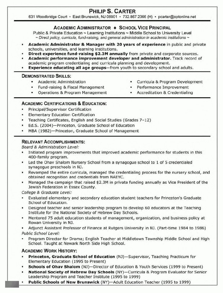 Graduate School Admissions Resume   Best Resume Collection