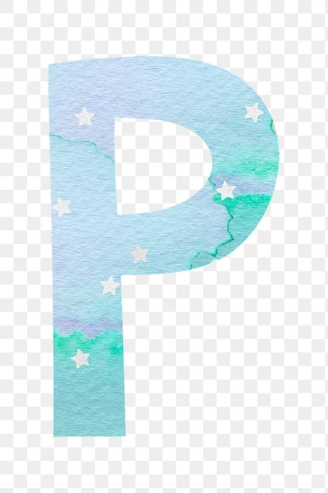 Letter P Colorful Typography Png Free Image By Rawpixel Com Marinemynt Free Png Png Typography