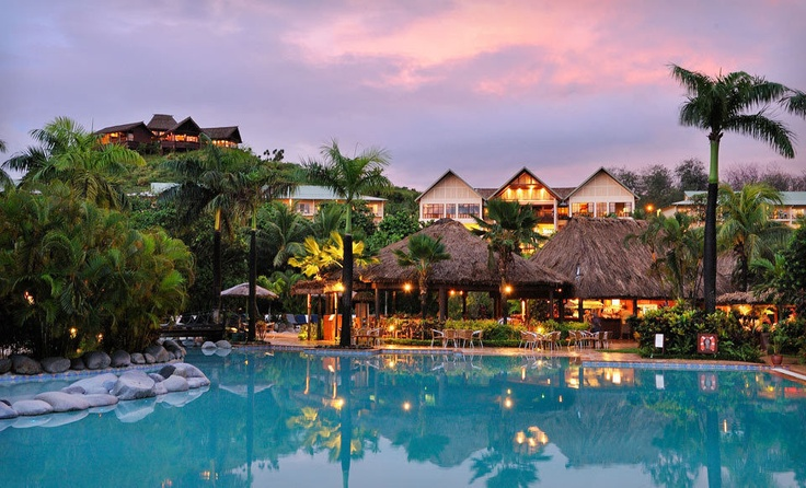Fiji: Outrigger - this is where we're staying!!!!! :)