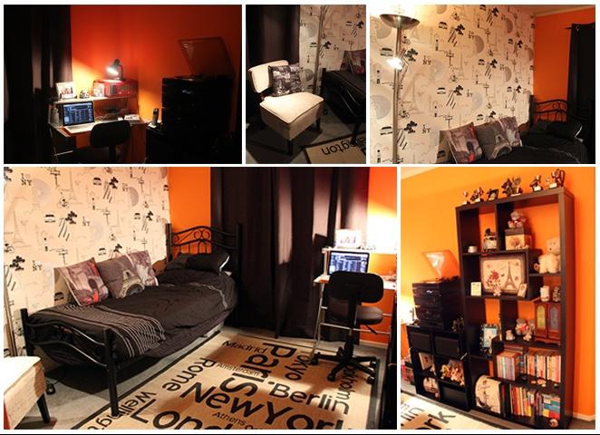 City themed bedroom