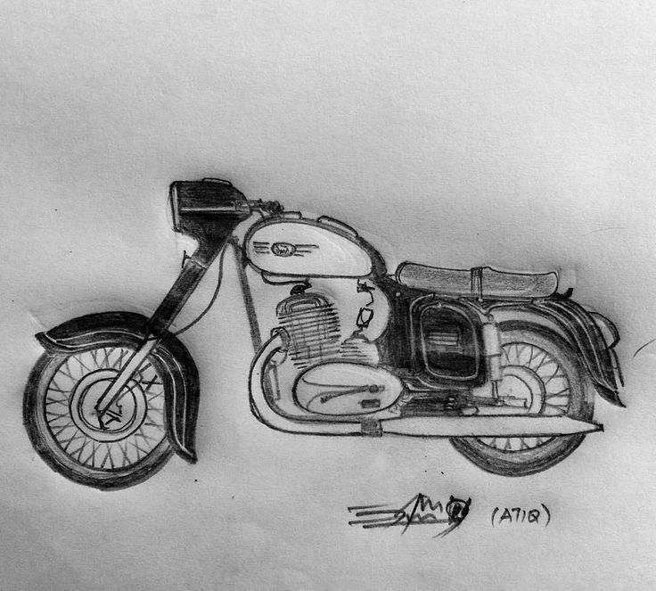 Where there is love. There is creativity.  Jawa love   Photo courtesy of @atiqfirnaz  More photos on - http://ift.tt/1MOOLiU (Link in Profile) | #jawa | #jawamotorcycles.com | #idealjawa| #2stroke | #chrome | #Cz | #biker | #motorcycles | #imtheindianbiker | #yezdi | #yjoci | #retro | #czech | #vintage | #vintagestyle |#india | #motorbike | #caferacer | #bikeporn | #instamotogallery | #dirt | #bike | #picoftheday | #gopro | #motocross | #motorcycleyard |