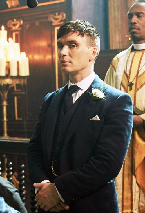 Tommy Shelby - Peaky Blinders Wedding set in our Chapel at The Tabley House Collection, Knutsford. Have you visited?