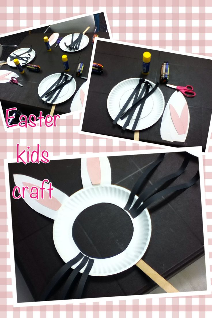 Easter easy craft for toddlers. Fun , and frugal - bunny mask :). Excellent activity for school, day care or Easter party