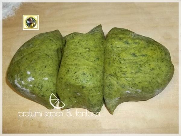 Pasta fresca con spinaci ricetta base
