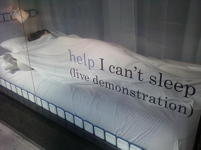 Ha... Live demonstration.  insomnia