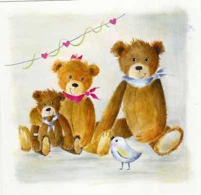 Une bien belle famille d'ours