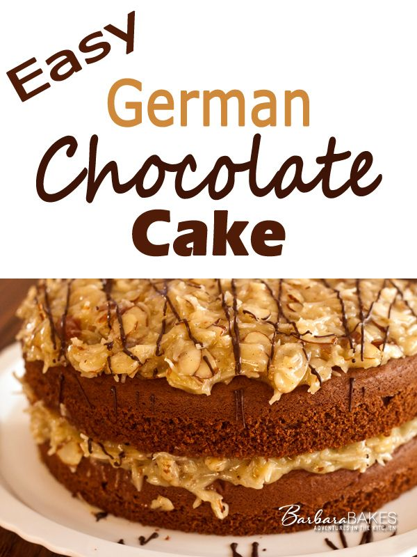 German Chocolate Cake Frosting Recipe Easy