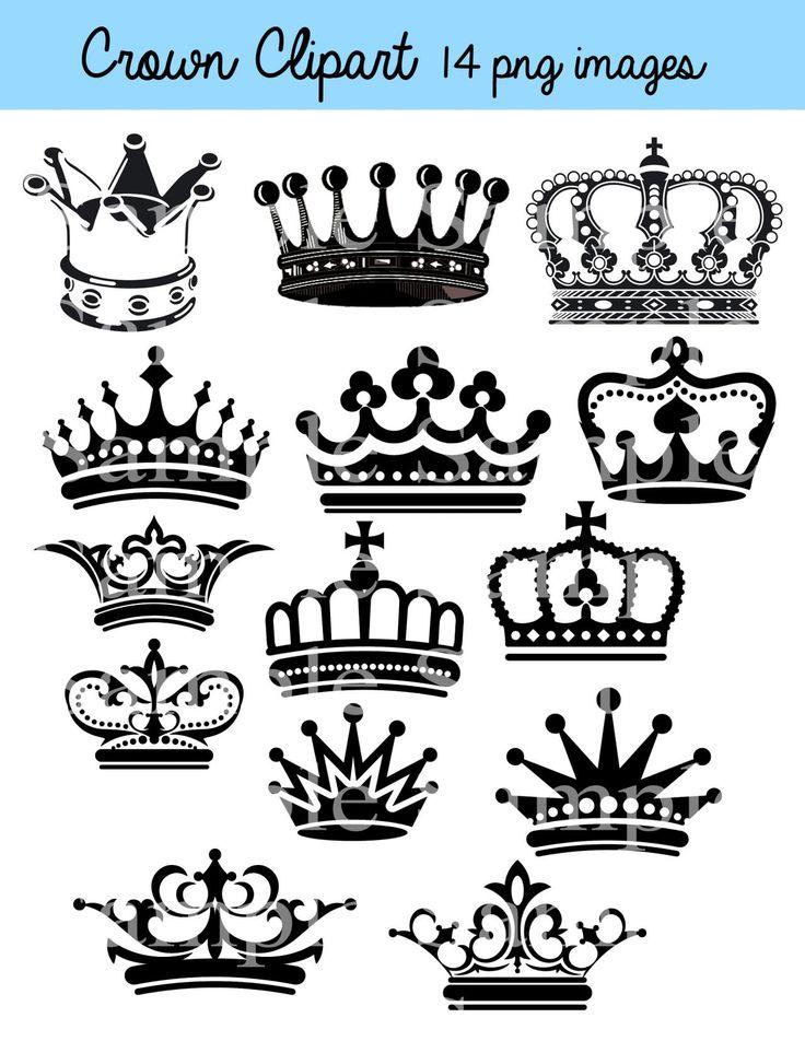 Crown Clipart Clip Art, Crown Silhouette Clipart Clip