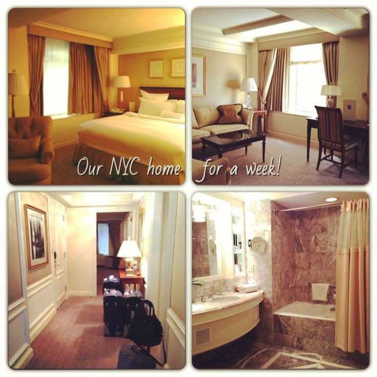 The Ritz Carlton Hotel, New York City (across Central park)