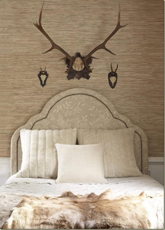 Guest-Bedroom.Guest Room, Guest Bedrooms, Bedrooms Design, Antlers, Hotels Interiors, Interiors Design, Design Bedrooms, Thibaut Fine, Fine Furniture