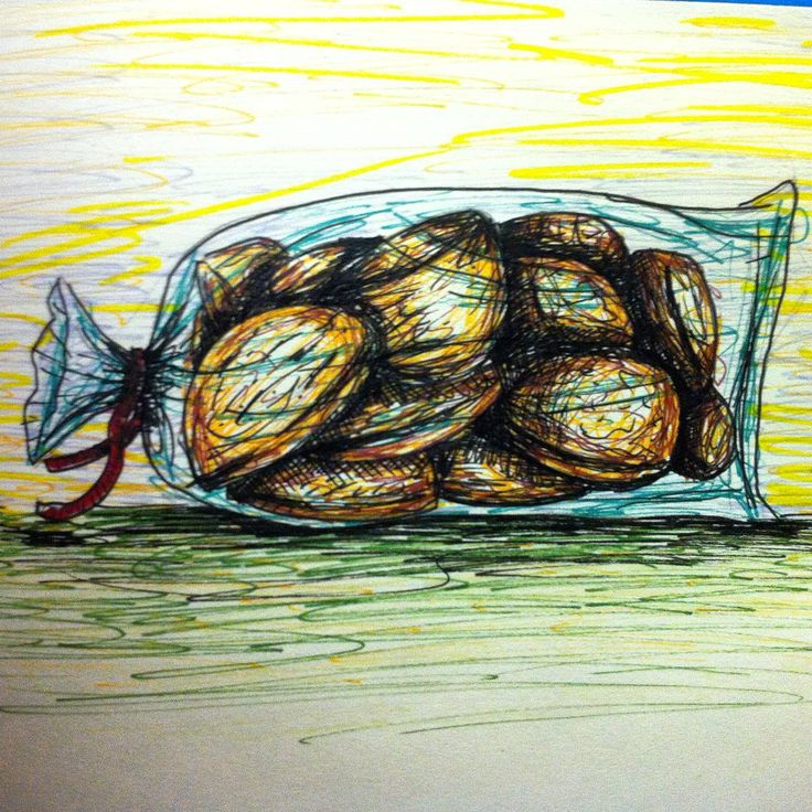 Sí no me las como, las #dibujo #sharpieart #sharpie #inkcolour #galletas #cookies #scketch #illustration #libelli