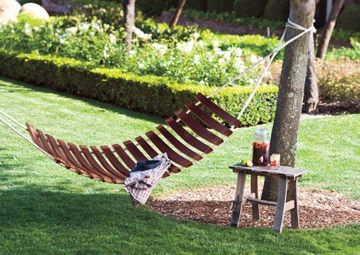 wine barrel hammock